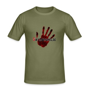 DayzOrigins.de slim - Männer Slim Fit T-Shirt