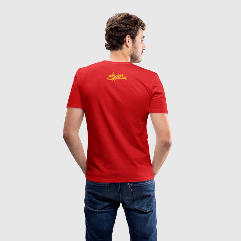 How up do Highknee! - Hau ab, Du Heini! T-Shirts - Männer Slim Fit T-Shirt