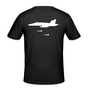 F-18  - slim fit T-shirt
