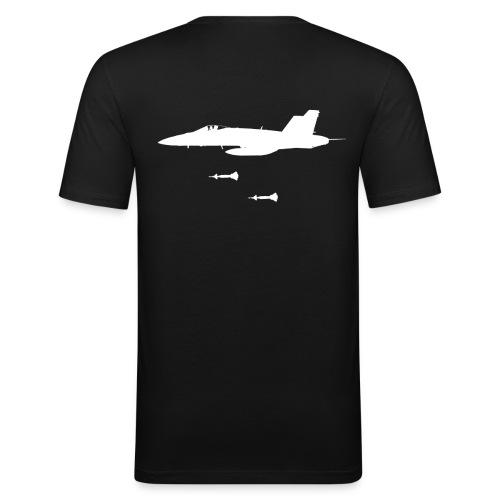 F-18  - slim fit T-shirt