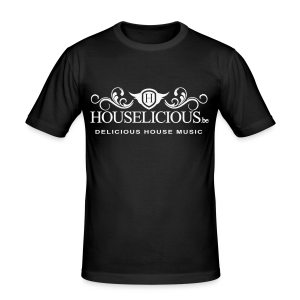 Houselicious White Print Slim Fit - slim fit T-shirt