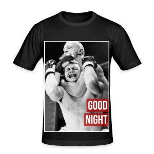 Mens MMA Fashion Hipster Tshirt - 'Goodnight Choke' - Men's Slim Fit T-Shirt