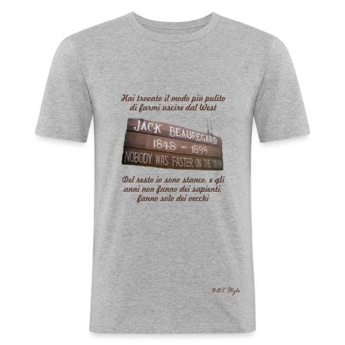 Gli anni non fanno dei sapienti... - Maglietta aderente da uomo