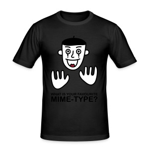 What is your favourite Mime-Type? - Men's Slim Fit T-Shirt