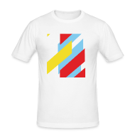 T-Shirts ~ Men's Slim Fit T-Shirt ~ Chevrons T