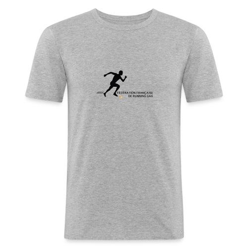 Fédération française de running gag (homme) - T-shirt près du corps Homme