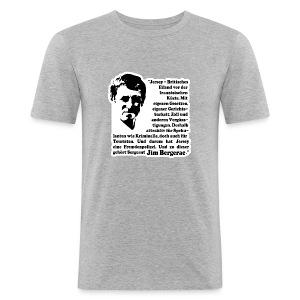 Bergerac T-Shirt - Männer Slim Fit T-Shirt