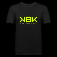 T-shirts ~ Slim Fit T-shirt herr ~ KBK Neongul
