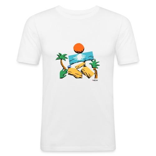 Strandbaukasten - Männer Slim Fit T-Shirt