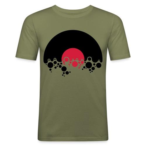 Vinyl - Männer Slim Fit T-Shirt