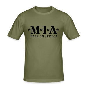 MIA - Made In Africa - Men's Slim Fit T-Shirt