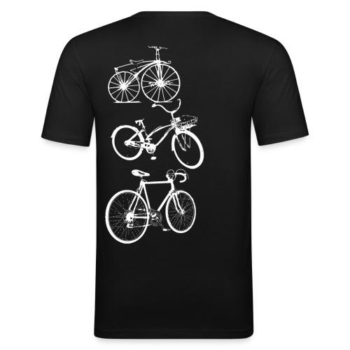 Bikebikebike - Männer Slim Fit T-Shirt