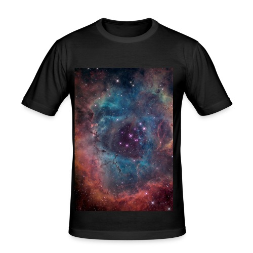 Planetary Nebula  - Men's Slim Fit T-Shirt