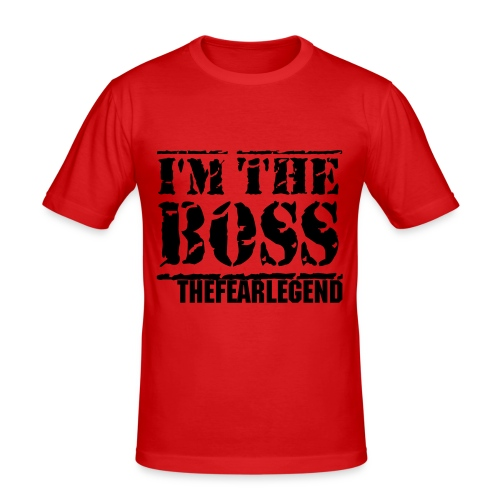 Im The Boss - Men's Slim Fit T-Shirt
