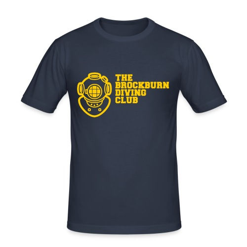 Brockburn Diving Club - Men's Slim Fit T-Shirt