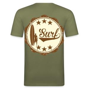Surfing vintage t-shirt - Men's Slim Fit T-Shirt