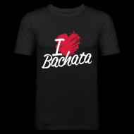 Tee shirts ~ Tee shirt près du corps Homme ~ I love Bachata
