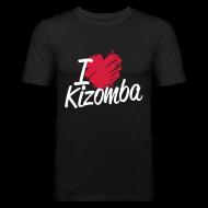 Tee shirts ~ Tee shirt près du corps Homme ~ I love Kizomba