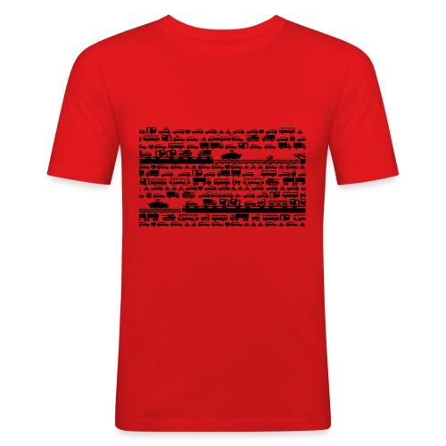 TRAFFICJAM - Männer Slim Fit T-Shirt