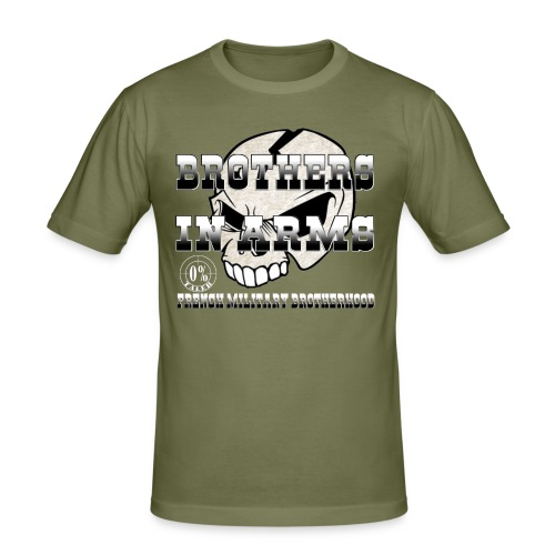 Support skull - T-shirt près du corps Homme