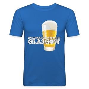 Beer O'Clock - Men's Slim Fit T-Shirt
