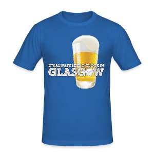 Beer O'Clock - Men's Slim Fit T-Shirt
