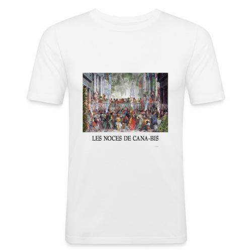 Les noces de cana-bis - T-shirt près du corps Homme