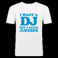 Tee shirts ~ Tee shirt près du corps Homme ~ Not a jukebox