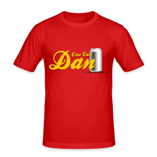 One Can Dan - Men's Slim Fit T-Shirt