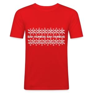 Bah Humbug - Men's Slim Fit T-Shirt
