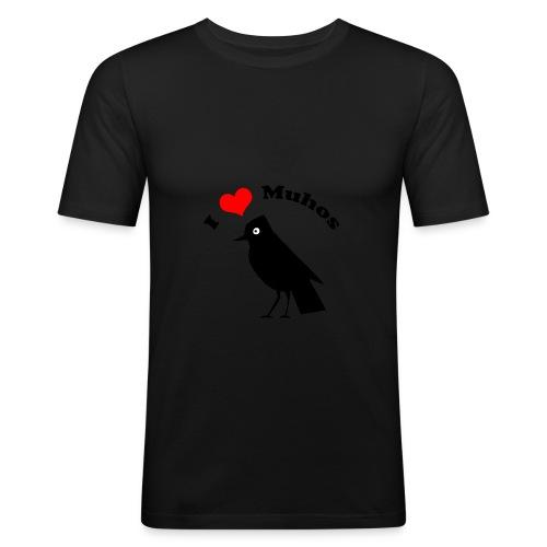 T-Paita - Miesten tyköistuva t-paita