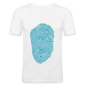 Fingerprint T-Shirt - Men's Slim Fit T-Shirt