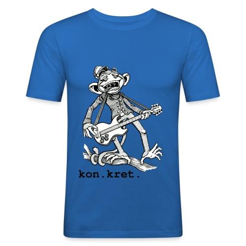 Shirt Monkey - Männer Slim Fit T-Shirt