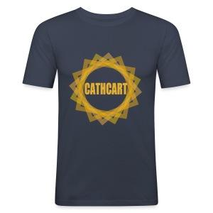 Cathcart Circle - Men's Slim Fit T-Shirt
