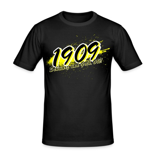 Slim T-Shirt 1909 - Männer Slim Fit T-Shirt