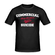 T-Shirts ~ Männer Slim Fit T-Shirt ~ Positive Shirt Black