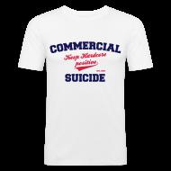 T-Shirts ~ Männer Slim Fit T-Shirt ~ Positive Shirt White