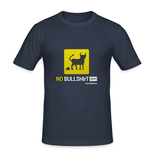 No Bullshirt - Men's Slim Fit T-Shirt