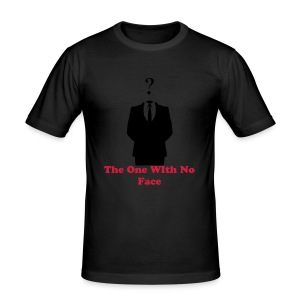 The One With No Face - Men's Slim Fit T-Shirt
