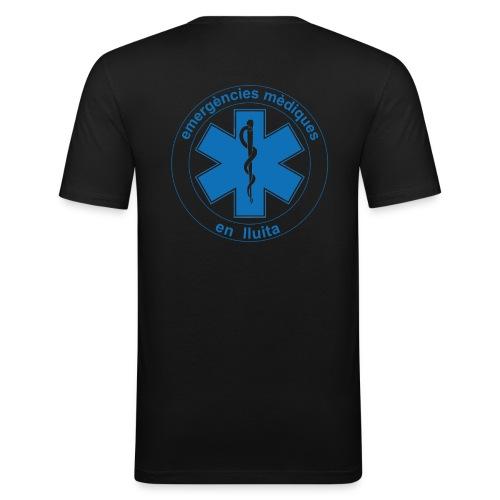 Samarreta emergències mèdiques estrella de la vida en lluita - Camiseta ajustada hombre