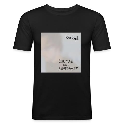 Shirt Leptosom-Cover - Männer Slim Fit T-Shirt