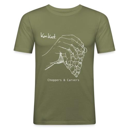 Shirt Choppers & Carvers - Männer Slim Fit T-Shirt