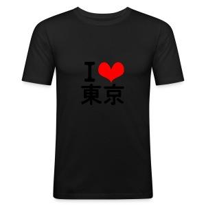 I Love Tokyo - Men's Slim Fit T-Shirt