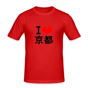 I Love Kyoto - Men's Slim Fit T-Shirt