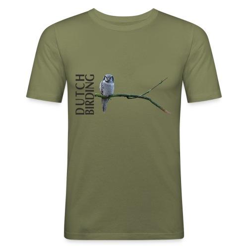 Sperweruil  MannenT-shirt slim fit - slim fit T-shirt