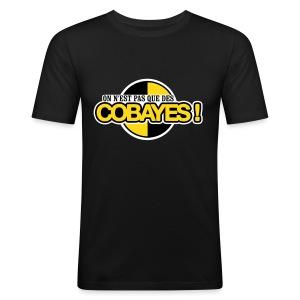 T-Shirt Homme Logo Cobayes - Tee shirt près du corps Homme