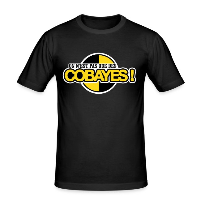 T-Shirt Homme Logo Cobayes