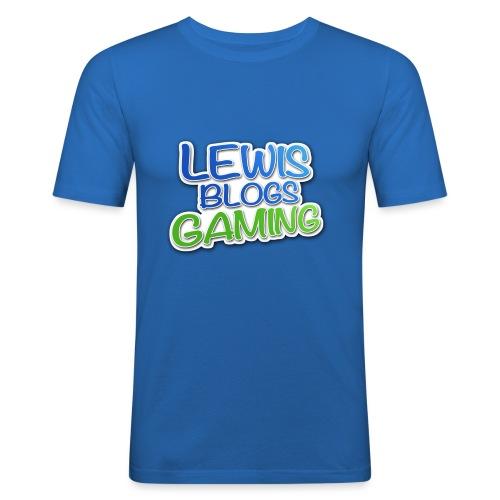 Lewis Blogs Gaming T-Shirt! - Men's Slim Fit T-Shirt