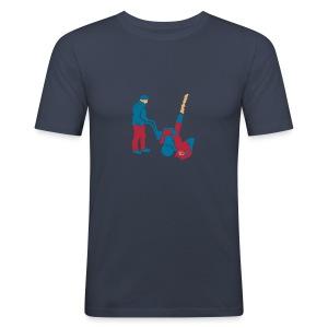 Schneefräser - Männer Slim Fit T-Shirt
