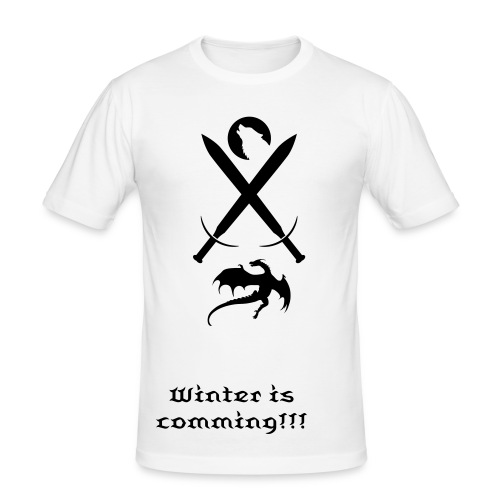 Winter is coming - Men's Slim Fit T-Shirt
